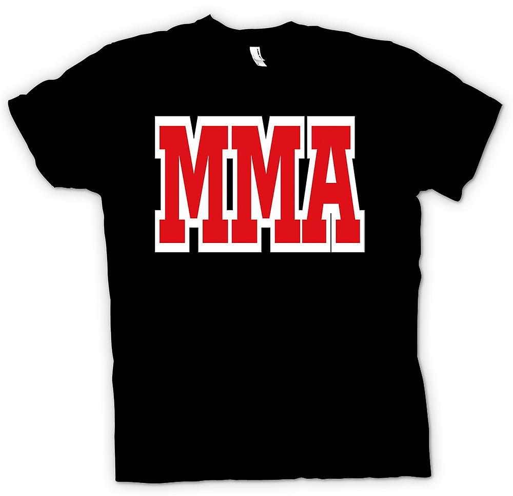 Herr T-shirt-MMA - Martial Art - Slogan