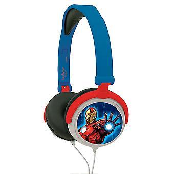 Avengers Assemble Boys Headphones Blue (Model No. HP010AV)