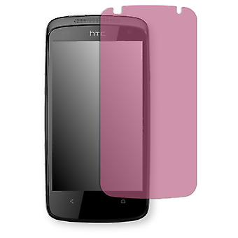 HTC desire 500 screen protector - Golebo view protective film protective film