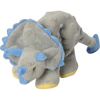 goDog Dinos Frills with Chew Guard Small-Gray