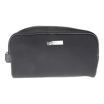 Fan Di Fendi Pour Homme Black Imitation Leather Trousse Pouch (10