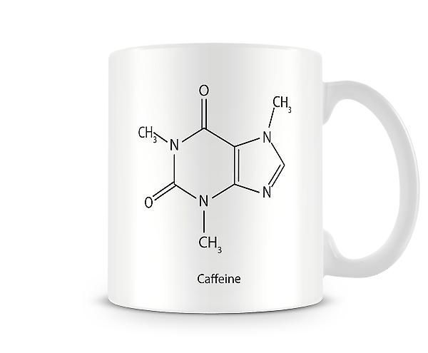 Chemical Formula Coffee Printed Mug