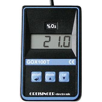 Medir el oxígeno GOX GREISINGER 100 T con Sensor
