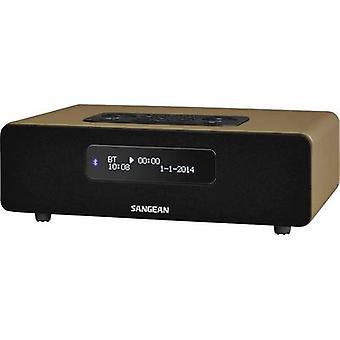 Sangean DDR-36 BT DAB+ Table top radio AUX, Bluetooth, DAB+, FM Brown