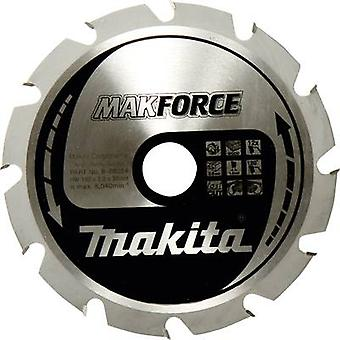 Carbide metal circular saw blade 190 x 30 x 1.4 mm Number of cogs: 24 Makita MAKFORCE B-32247 1 pc(s)