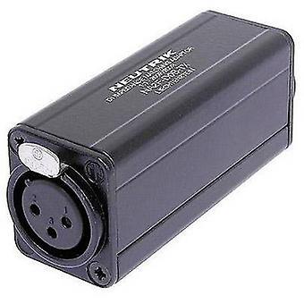 XLR adapter XLR socket - RCA socket (phono) NeutrikNA2F-D0B-TX1 pc(s)
