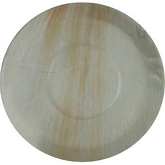 Eco-vriendelijke wegwerp partij platen - 30cm ronde (25 platen)