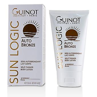 Guinot Sun Logic Auto Bronze Self-Tanner Body Lotion - 150ml/5oz