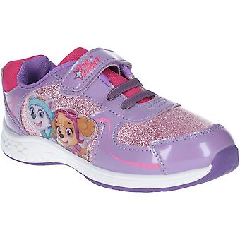Leomil Girls Skye and Everest Sparkle Lightweight Trainers