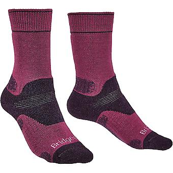 Bridgedale Womens Hike Midweight Merino wollen sokken lopen