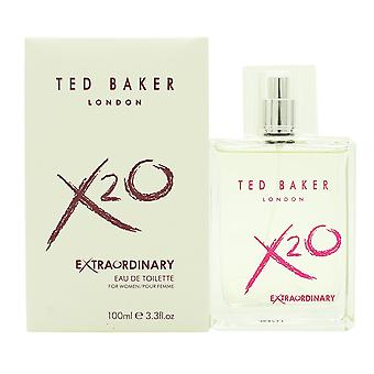 Ted Baker X20 ekstraordinære for kvinder Eau de Toilette 100 ml EDT Spray