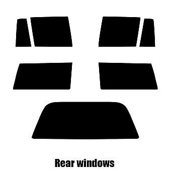 Pre cut fönstret nyans - Toyota Corolla Estate - 1988 till 1990 - bakre windows