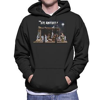 Original Stormtrooper The Christmas Stormtivity Star Men's Hooded Sweatshirt