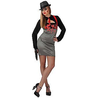 Women costumes  Mafia zombie dress for ladies