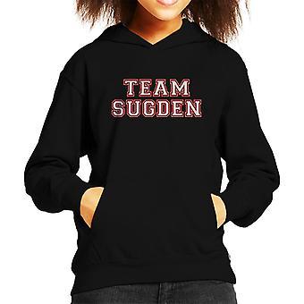 Team Sugden Emmerdale Sports Number Kid's Hooded Sweatshirt