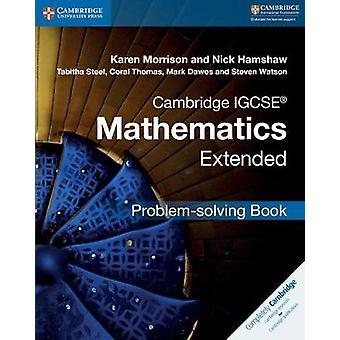 كامبريدج IGCSE الرياضيات مددت مشكلة حل الكتاب مو كارين