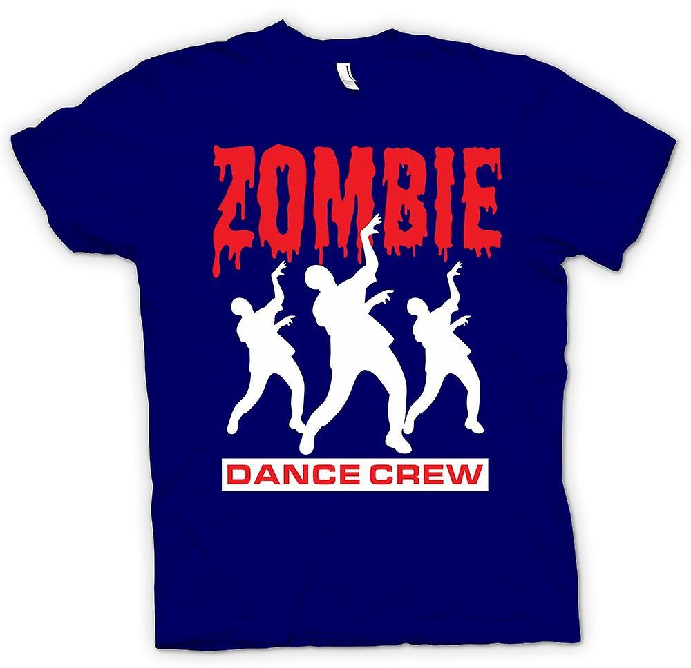 Mens t-skjorte - Zombie dans mannskapet - morsomme Horror