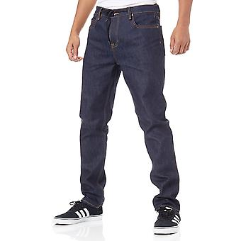 Element Rigid Indigo E02 Slim Straight Jeans
