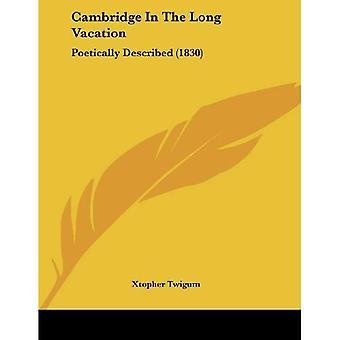 Cambridge in the Long Vacation: Poetically Described (1830)
