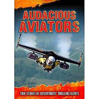 Aviadores audaciosos: Histórias verdadeiras de aventureiros emocionante voos (aventureiros finais)