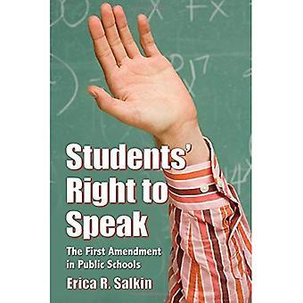 Elevernas rätt att tala: det första ändringsförslaget i offentliga skolor