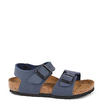 Birkenstock Kids New York Navy Sandal
