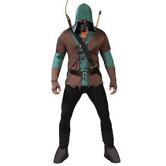 Déguisement de mens Archer Robin des bois