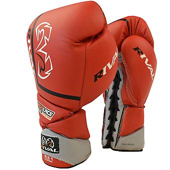 Rival Boxing Pro Sparring Gloves - Red