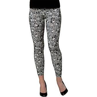 Leggings Skeletons Adult