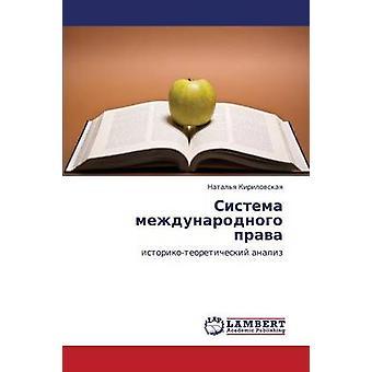 Sistema mezhdunarodnogo prava av Kirilovskaya Natalya