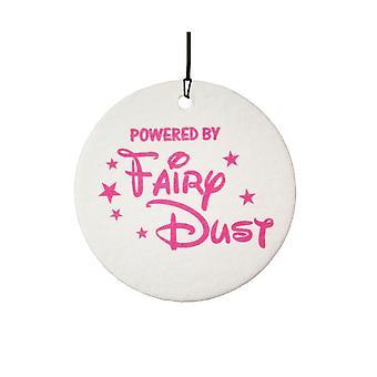 Powered By Fairy Dust Car Air Freshener