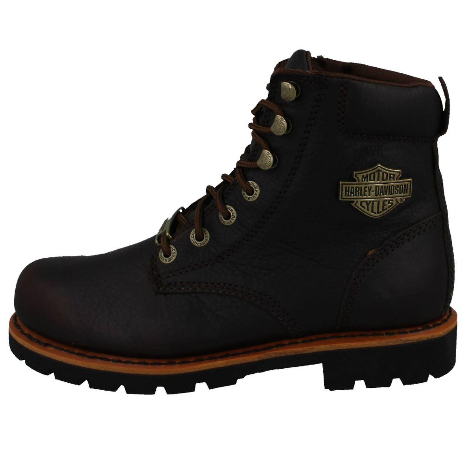 Mens Harley Davidson Ankle Boots Vista Ridge D93424