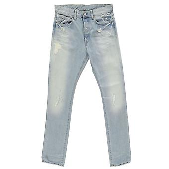 G Star Mens 51003 Tapered Jeans Straight Pants Trousers Bottoms Cotton