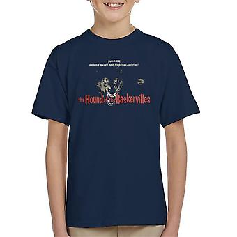 Hammer The Hound Of The Baskervilles Kid's T-Shirt