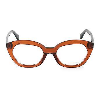 Balenciaga BA 5060 048 51 Hexagonal Cat Eye Eyeglasses Frames