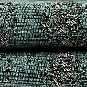 Mcalister textiles textured chenille teal fabric