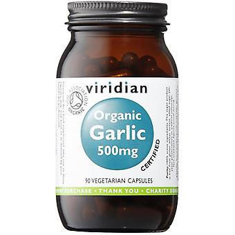 Viridian Organic Garlic 500mg Veg Caps 90 (947)