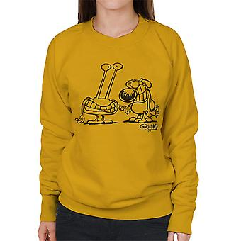 Grimmy Alien Encounter Women's Sweatshirt