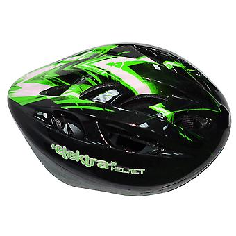 ELEKTRA Cycle Helmet (Green)