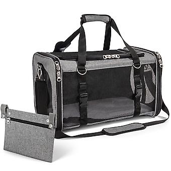 Parisian series airline approved soft sided pet carrier