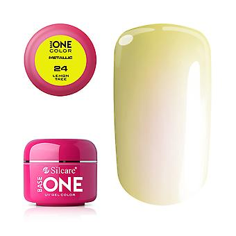 Base one Metallic-Lemon tree 5 g UV-gel