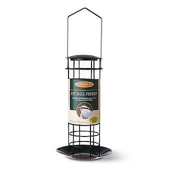 Johnston and Jeff Wild Bird Small Fat Ball Feeder with Tray