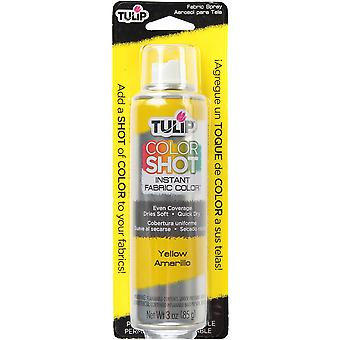 Tulip Color Shot Instant Fabric Color Spray 3oz-Yellow CLRSH-33599