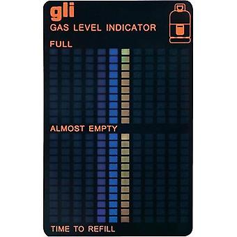 Gas container level indicator