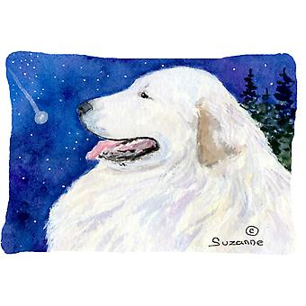 Great Pyrenees Decorative   Canvas Fabric Pillow