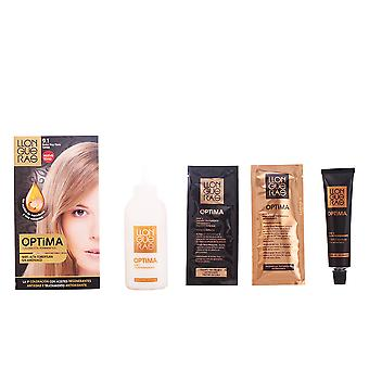 OPTIMA hair colour #9.1-very light blond cendre