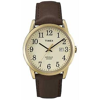 Timex Mens Easy Reader Cream Dial TW2P75800 Watch