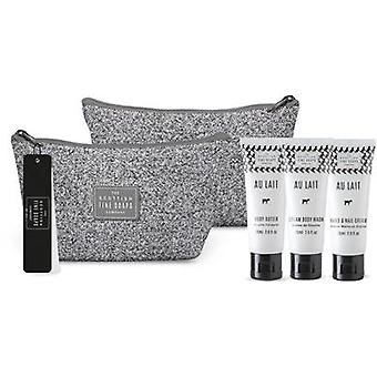 Scottish Fine Soaps Au Lait Toiletry Bag