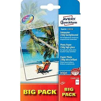 Photo paper Avery-Zweckform Superior Photo Paper Inkjet C2495-100