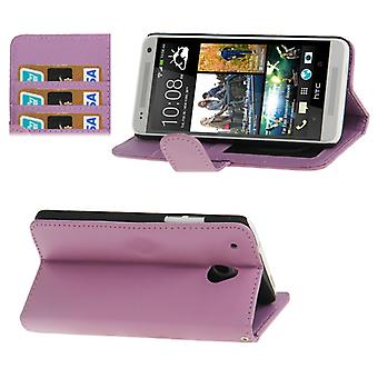 Cell phone cover case voor mobiel HTC one mini M4 paars